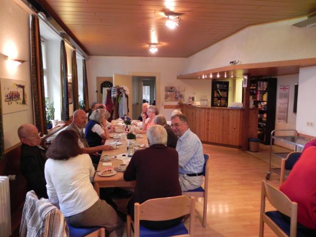 Café Hedtberg, ein Treffpunkt für Alt und Jung