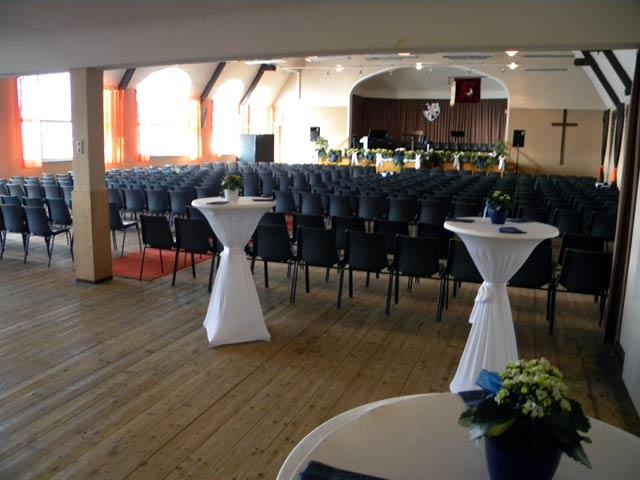 Großer Saal im CVJM Langerfeld