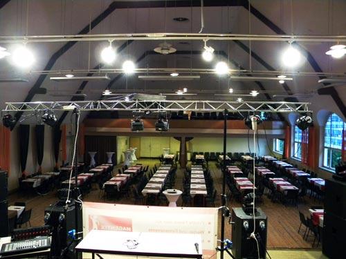 Großer Saal von der Bühne aus