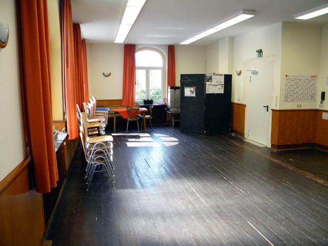 Kleiner Saal Westseite