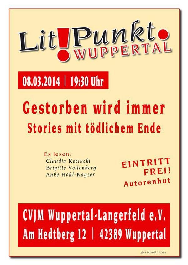 Lesung am 08.03.2014 im CVJM Wuppertal-Langerfeld