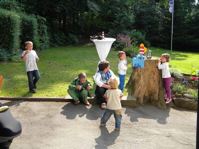 Auch die Kleinsten hatten viel Spaß