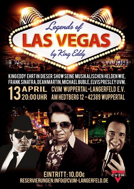 Musikalische Helden aus Las Vegas by Kind Eddy