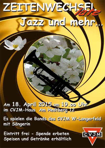 Plakat Zeitenwechsel Frühjahr 2015
