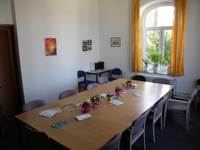 Das Sitzungszimmer