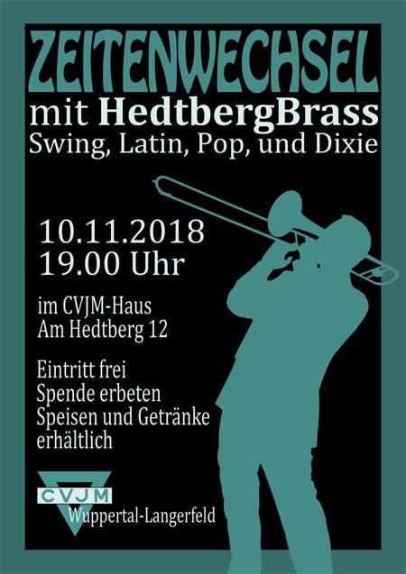 Zeitenwechsel 2018 mit der Hedtberg Brass