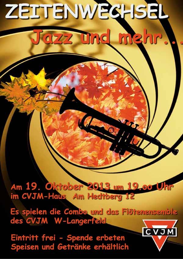 Zeitenwechsel Herbst 2013 - CVJM Wuppertal-Langerfeld