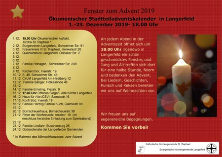 Fenster zum Advent 2019