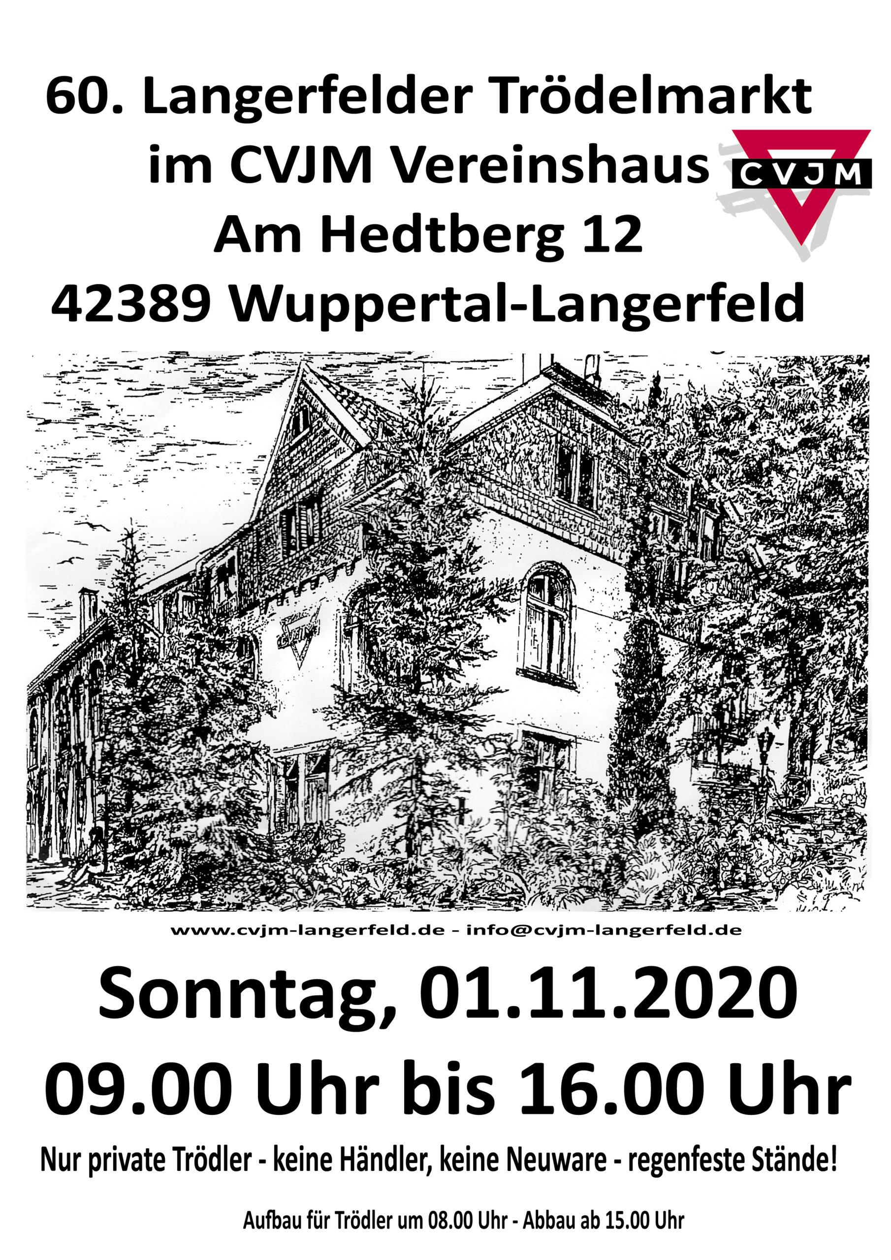 60. Langerfelder Trödelmarkt 01.11.2020